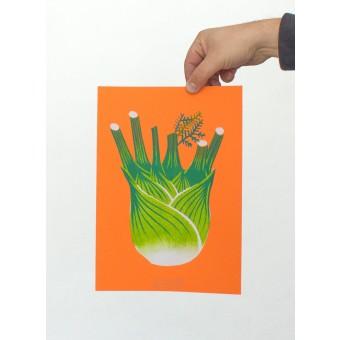 Martin Krusche – Artprint Stencil »Fenchel« DINA4