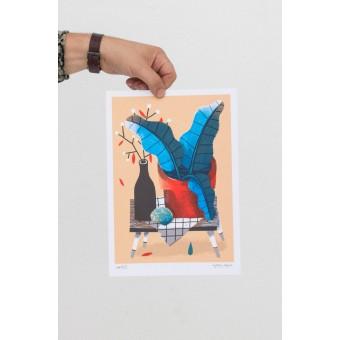 Martin Krusche – Artprint Stencil »Kommode« DIN A4