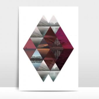 """Amy & Kurt Berlin A3 Artprint """"Horizonte"""""""