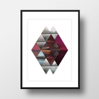 """Amy & Kurt Berlin A4 Artprint """"Horizonte"""""""