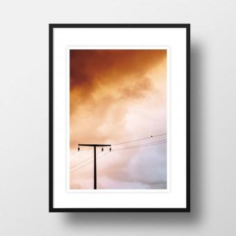 """Amy & Kurt Berlin A4 Artprint """"Birdy"""""""