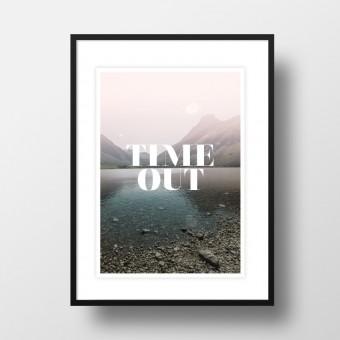 """Amy & Kurt Berlin A4 Artprint """"Time Out"""""""