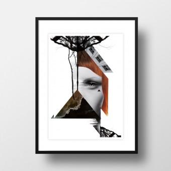 """Amy & Kurt Berlin A4 Artprint """"Rotschopf"""""""