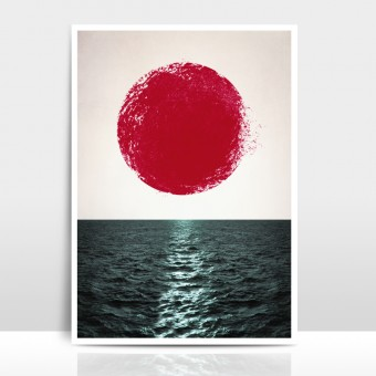 """Amy & Kurt Berlin A3 Artprint """"Sunset"""""""