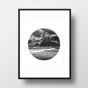 """Amy & Kurt Berlin A4 Artprint """"Island 02"""""""