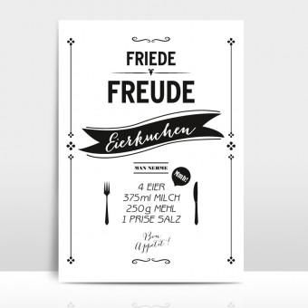"""Amy & Kurt Berlin A3 Artprint """"Eierkuchen"""""""