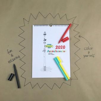 minimarktberlin Wrangelkiez Kalender 2020
