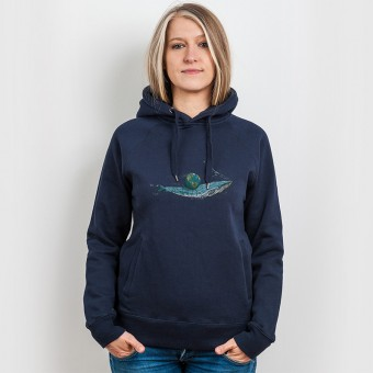 Robert Richter – Save the Planet Whale - Organic Cotton Unisex Hoodie
