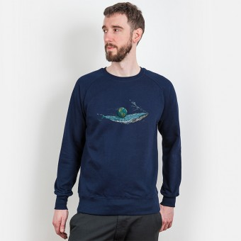Robert Richter – Save the Planet Whale - Organic Cotton Sweatshirt