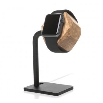 Woodcessories - EcoDock Watch Edition - Premium Design Ladestation, Dockingstation, Halterung für die Apple Watch aus FSC-zert. Holz (Eiche)