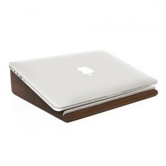 Woodcessories - EcoStand MacBook Lift - Premium Design Stand, Notebook Ständer, Erhöhung, Lift für das MacBook aus massivem Holz (Walnuss)