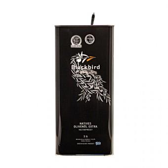 BLACKBIRD Olivenöl Extra Nativ - 5 ltr. Vorratskanister