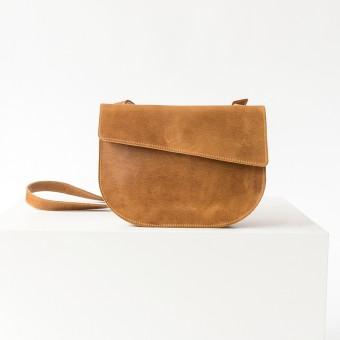 Franziska Klee – Umhängetasche BEA / Cognac geölt