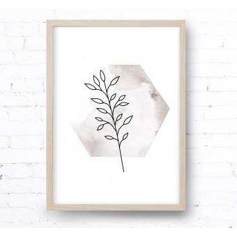 Kruth Design POSTER / BOTANICAL NO.1