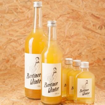 Berliner Winter - Die Alternative zu Glühwein. Alkoholisches Heißgetränk mit Apfelsaft, Wodka und Gewürzen. Kombi-Set B (1 x 1,0l + 1 x 0,5l + 3 x 0,1l)