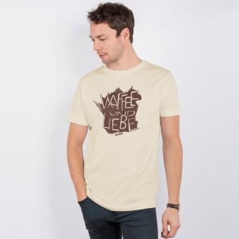 Lukas Adolphi - Kaffee und Liebe - Organic Cotton T-Shirt