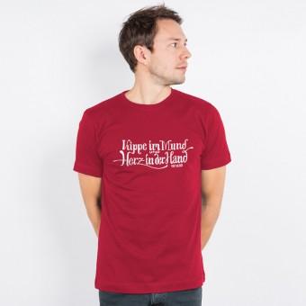 Lukas Adolphi - Kippe im Mund - Organic Cotton T-Shirt