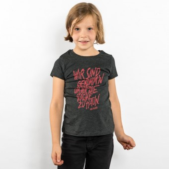 Lukas Adolphi -  Auf die Kacke hauen - Girls Organic Cotton T‑Shirt
