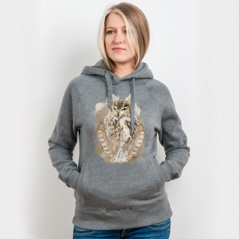 Ars Magna – Ancient Owl - Organic Cotton Unisex Hoodie