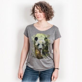 Ars Magna – Panda - Ladies Organic Modal T-Shirt