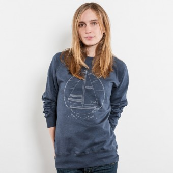 Keregan Ahoi Schiffchen Unisex Recycled Organic Sweatshirt
