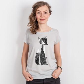 Keregan* – Lovely Fox - Ladies Organic Tencel T-Shirt