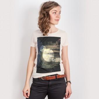 Kopfstein – Erde - Ladies T-Shirt
