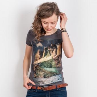 Kopfstein – Wasser - Ladies T-Shirt