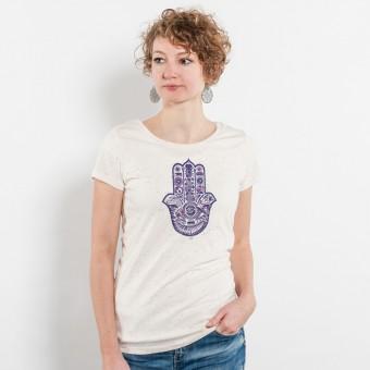Douze – Chamsa - Ladies Organic Cotton T-Shirt