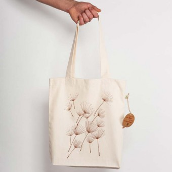 miinuc - Pollen - Recycled Natural Shopping Bag
