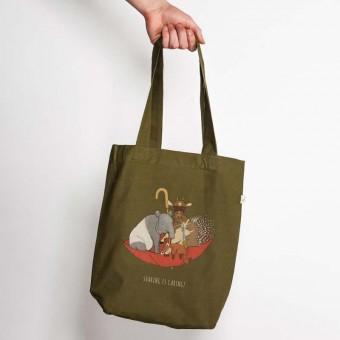 minttu - Sharing is Caring - Low Carbon Organic Cotton Fashion Bag