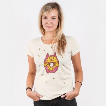 Pencake – Donut Cat - Ladies Organic Cotton T-Shirt