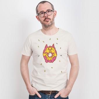 Pencake – Donut Cat - Organic Cotton T-Shirt