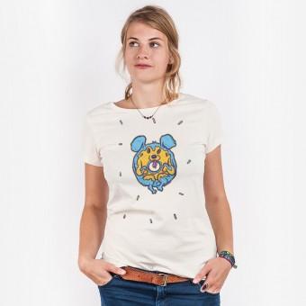 Pencake – Donut Dog - Ladies Organic Cotton T-Shirt