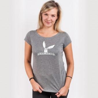 Rabbit Revolution – Animal Liberation - Ladies Organic Modal T-Shirt
