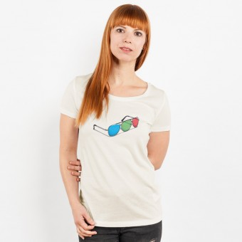 Robert Richter – 3D Glasses - Ladies T-Shirt