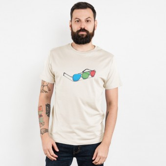 Robert Richter – 3D Glasses - Mens Organic Cotton T-Shirt