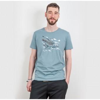 Robert Richter – Clean the World I (Bird) - Organic Cotton T-Shirt