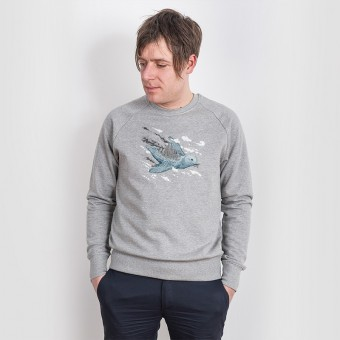 Robert Richter – Clean the World - Bird - Organic Cotton Sweatshirt