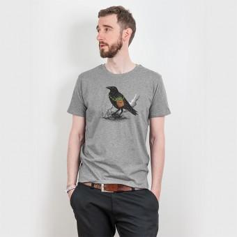 Robert Richter – Clean the World III - Rabe - Organic T-Shirt