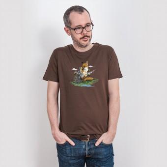 Robert Richter – Clean the World II (Fox) - Mens Low Carbon Organic Cotton T-Shirt