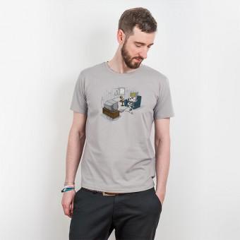 Robert Richter – Computer Love - Mens Organic Cotton T-Shirt