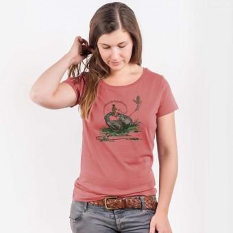 Robert Richter - Flying Sounds - Ladies Lightweight Organic Cotton T‑Shirt