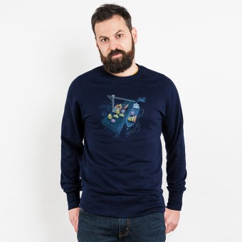 Robert Richter – Game Port - Organic Cotton Sweatshirt