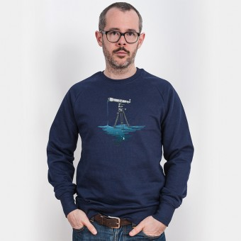 Robert Richter – Liquid Universe - Organic Cotton Sweatshirt