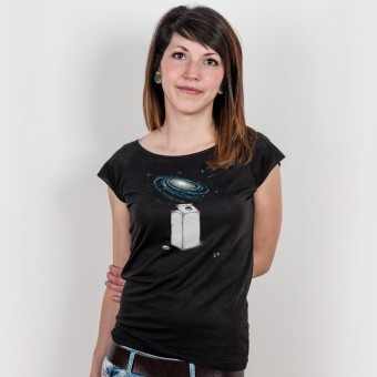 Robert Richter – Milky Galaxy - Bamboo Ladies T-Shirt