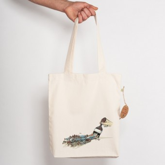 Robert Richter – Nature Brush - Recycled Organic Tote-Bag