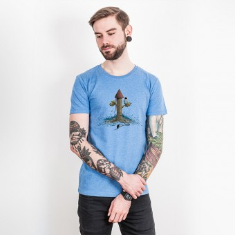 Robert Richter – Rocket Tree - Organic Cotton T-Shirt