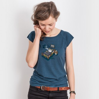 Robert Richter – Sleep Modus - Ladies Organic Bamboo T-Shirt