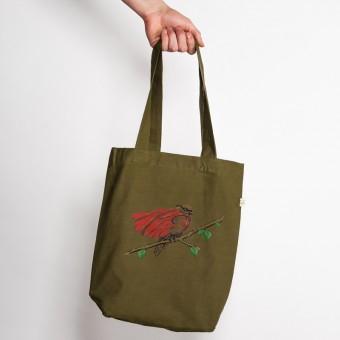 Robert Richter - Super Bird - Low Carbon Organic Cotton Fashion Bag